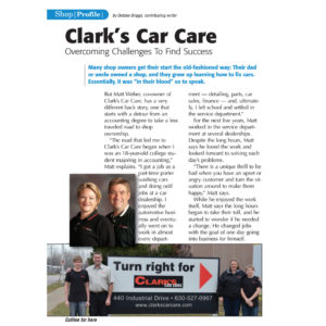 clarks-car-care-shop-profile-magazine-2015