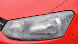 headlights fog up
